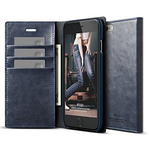 elago Leather Wallet Pocket Magnetic