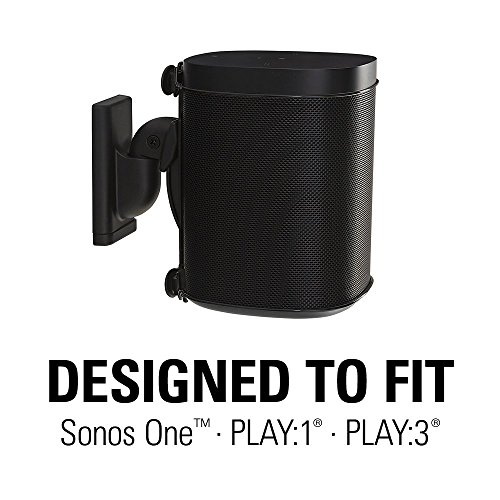 Sanus Sonos Mount Sonos One, Play:1, - Free & Swivel Adjustments