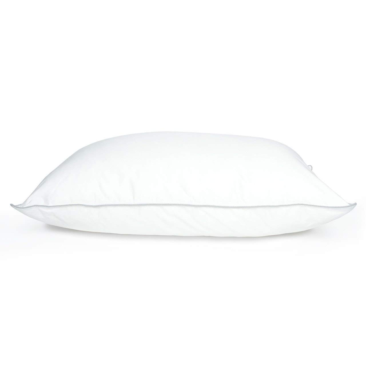 DOWNLITE Holiday Sale - Cluster Puff Polyester Bed Pillow Used by Many Hotel Properties Pillow Size: King