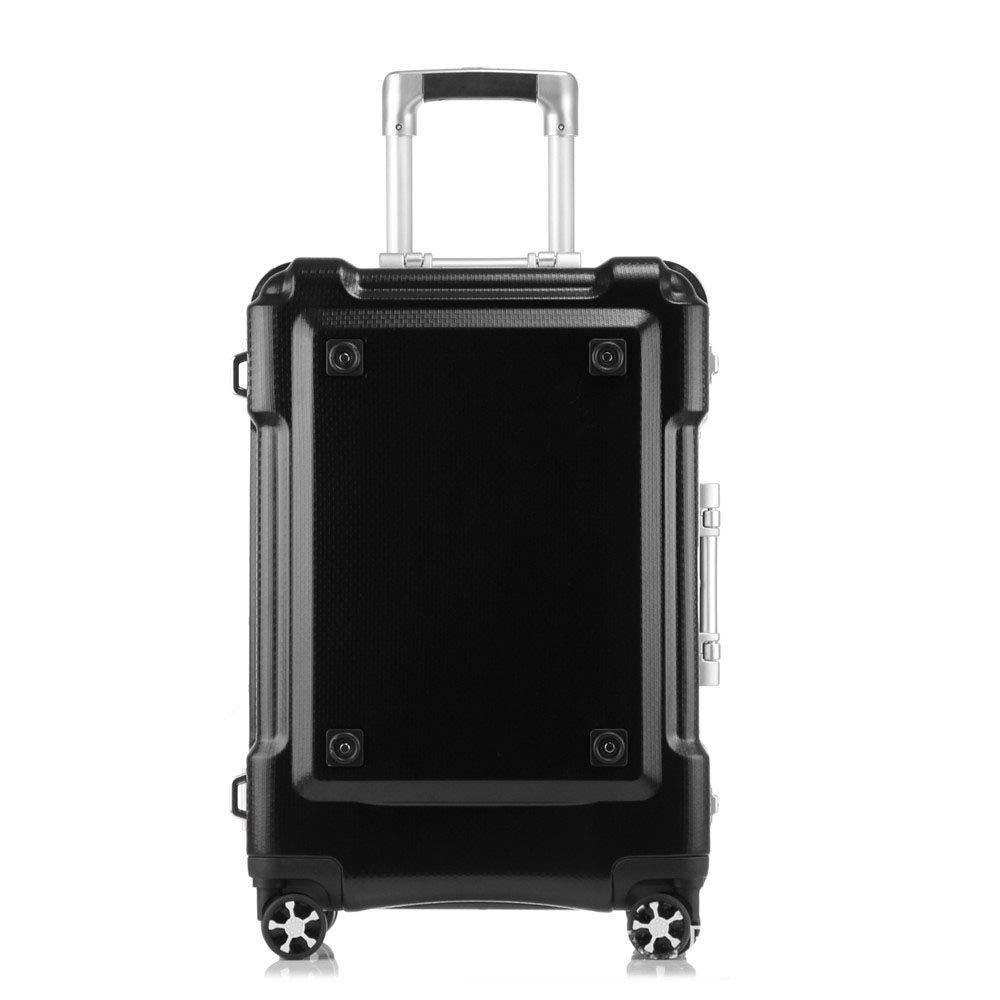スーツケース プーリーボックス、ユニバーサルホイール、20インチトランク、飛行機のホイール、24インチアルミフレームボックス、トラベリングボックス29インチ、トラベルギア トロリースーツケース B07VPF3XWM