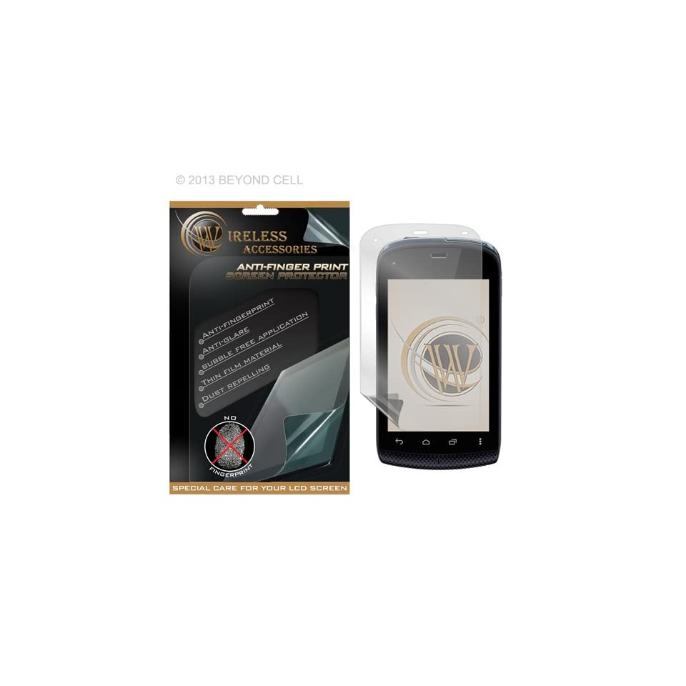Kyocera Hydro C5170 Anti Fingerprint Screen Protector Cell Phones & Accessories