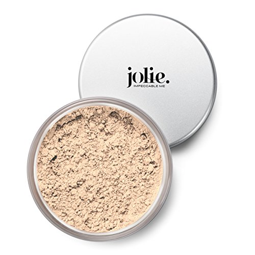 Jolie Mineral Loose Foundation Powder - 100% Pure Toxin-Free, Unscented, Hypoallergenic, Oil-Free, Talc & Paraben-Free (Mineral Light)