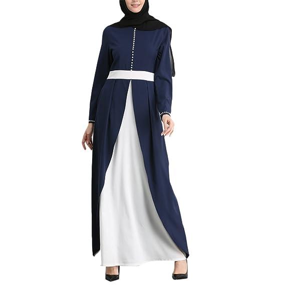 Zhhlinyuan De Las Mujeres Formal Musulmanes Abaya Vestir