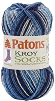 Kroy Socks Yarn-Sing N The Blues 1 pcs sku# 1466650MA