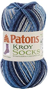 Kroy Socks Yarn-Sing N The Blues 1 pcs sku# 1466650MA