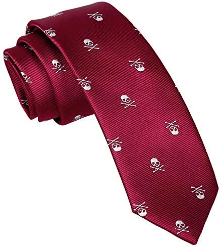 Enjoymore El cr¨¢neo del ancho de los hombres 6CM model¨® corbatas ...