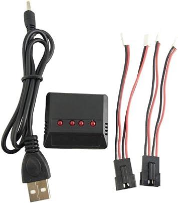 Amazon.com: RC Cargador de batería para Udir/C UDI U001 u902 ...