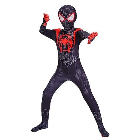 WEDSGTV Spiderman Miles Morales Hombres Niños Body Traje ...