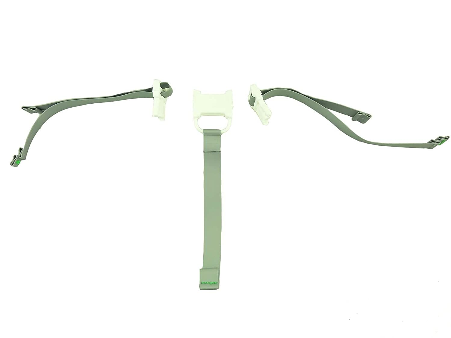 Fisher Price Replacement SpaceSaver Highchair 3-Point Waist /& Crotch Straps Gray