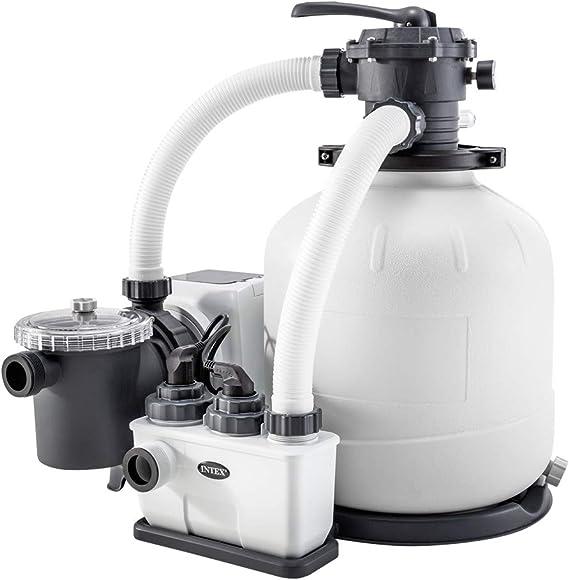 Intex 26680 - Sistema Combinado depuradora Arena y clorador salino ...