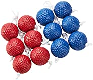 BESPORTBLE 6 Pairs Ladder Balls Ladder Toss Bolo Replacement Balls for Ladder Toss Game Outdoor Lawn Game Back