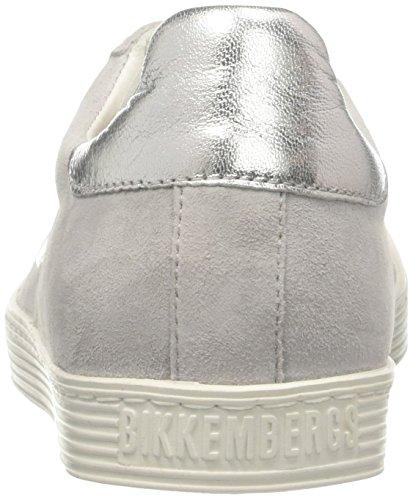 Bikkembergs Dames Woorden 888 Lage Sneaker Grijs