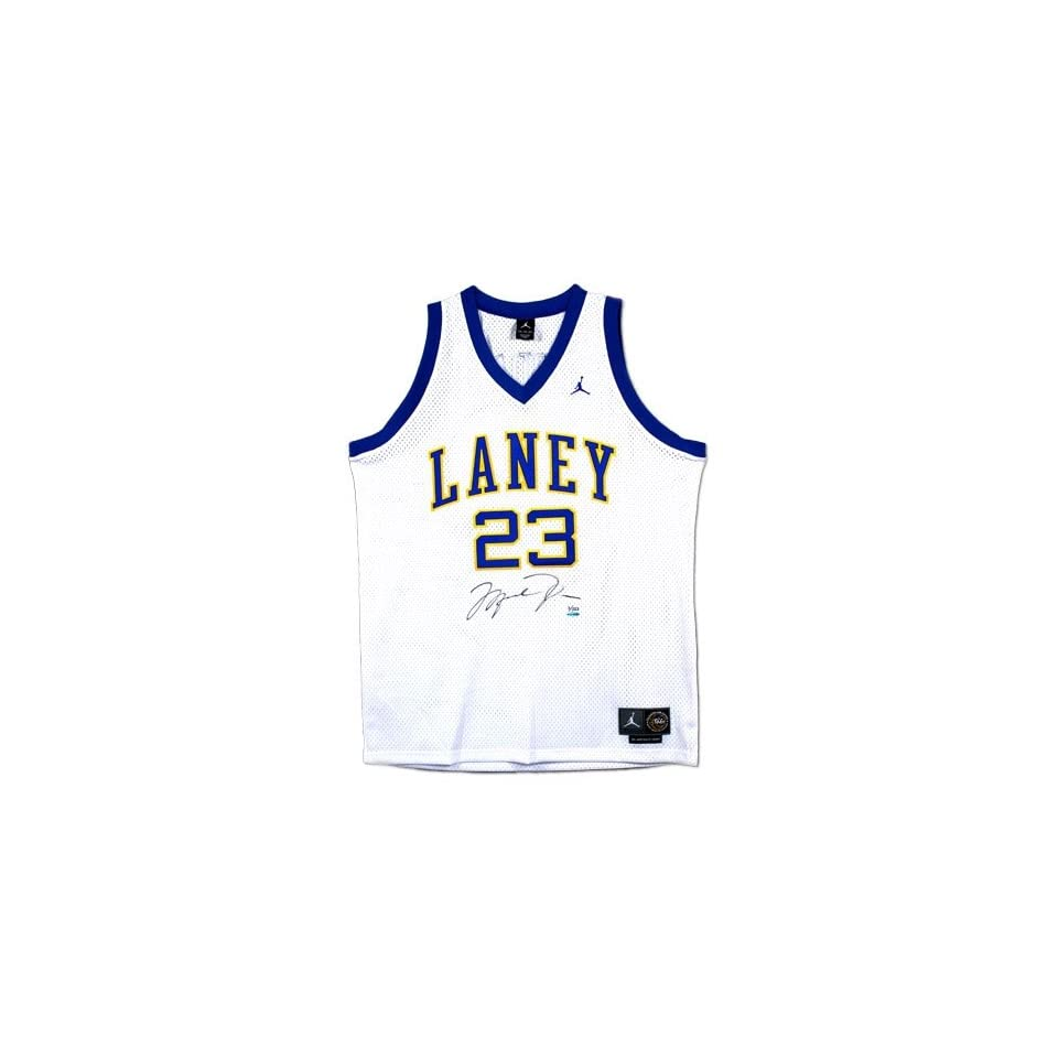 Autographed/Hand Signed Laney High School Nike Jersey