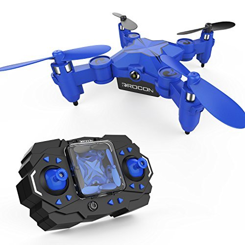 DROCON Scouter Foldable Mini RC drone for kids with Altitude Hold