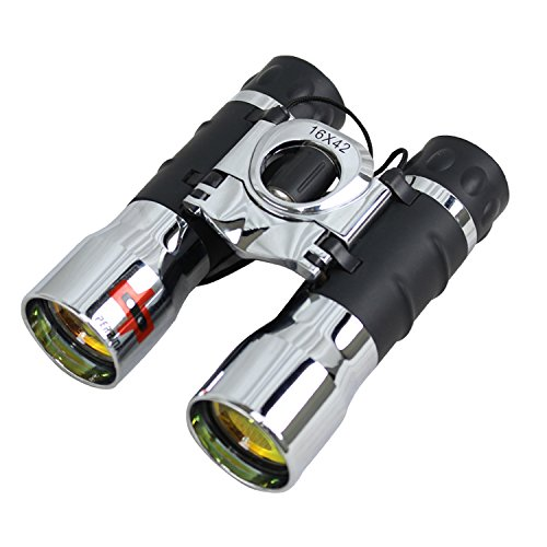 16x42 Ruby Coated Lens Binocular Chrome Color by Lastworld