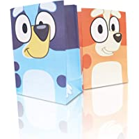 12 Party Bags for Bluey Birthday Decorations Party Bags Supplies Set for Children