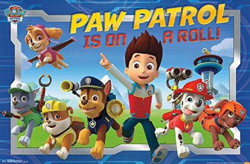 Trends International Nickelodeon Paw Patrol Crew Wall Poster