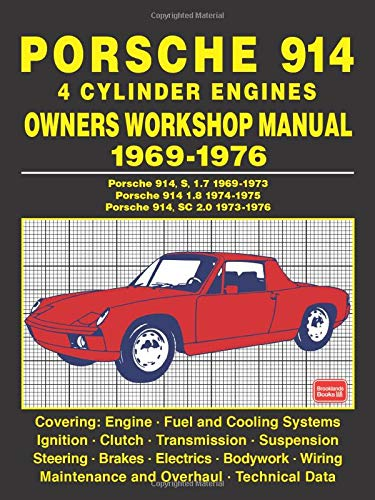 porsche 914 type iv engine diagram porsche 914 4 cylinder engines owners workshop manual 1969 1976  porsche 914 4 cylinder engines owners