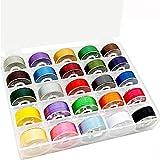 New brothread 25pcs Assorted Colors 70D/2