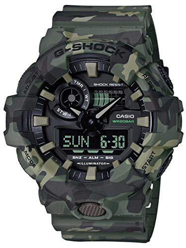 Casio G-Shock  Men's GA700CM-3A Green/Camo One Size for sale  Delivered anywhere in USA