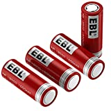 EBL 18500 Rechargeable Batteries 3.7V 1600mAh for