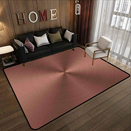 - Hallway Rug,Abstract,Anti-Slip Doormat Footpad Machine Washable,5'6