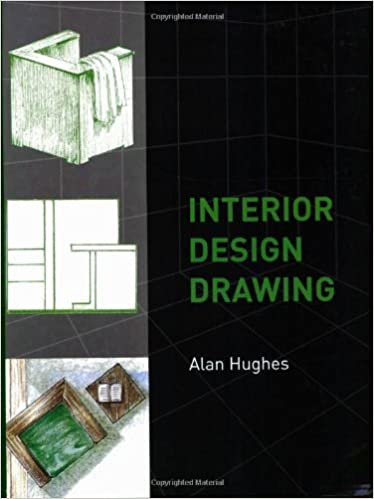 Amazon Com Interior Design Drawing 8601200792027 Alan Hughes Books