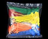 NICE PURCHASE 250pcs 6 inch Wire Zip Ties