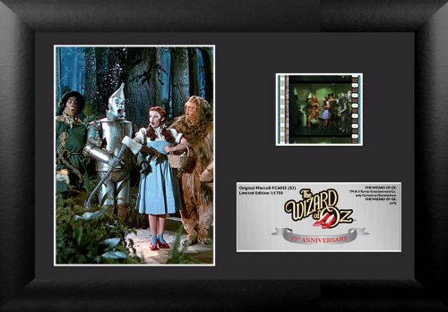 The Wizard of Oz 75th Anniversary (S3) Framed and Matted Film Cell Minicell USFC6055 (Photograph Display Framed)