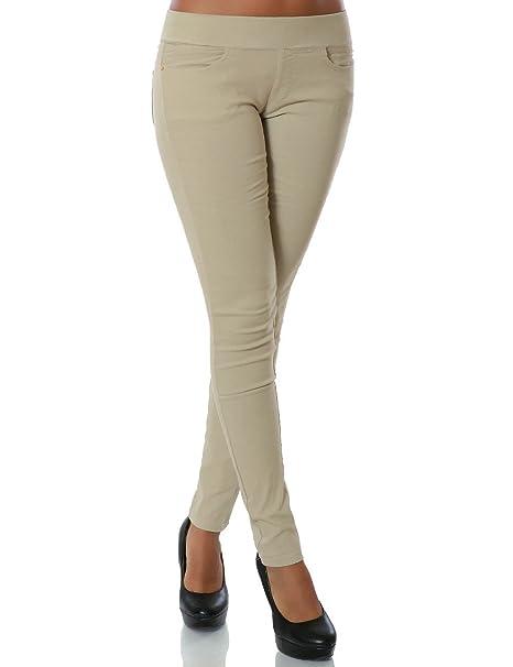 heiß-verkaufende Mode das beste neuesten Stil Damen Skinny Treggings Hose Stretch DA 14028