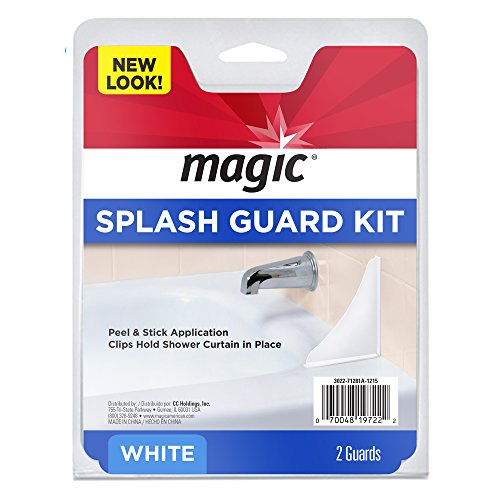 Magic Splash Guard Kit - Prevent Water from Splashing out of the Bath or Shower- - Kit Guard Splash