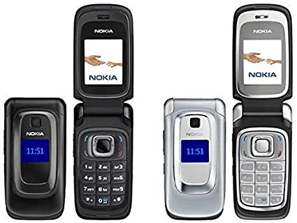 Nokia Flip Phone >> Amazon Com Nokia 6085 Gsm At T Quadband Mobile Flip Phone Electronics