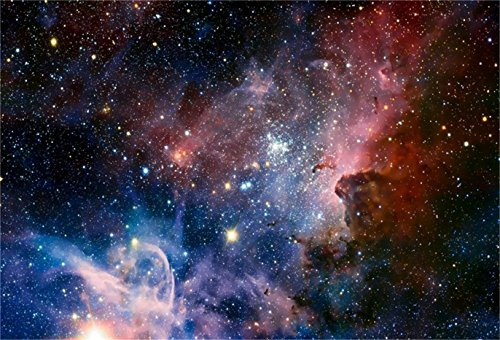 CSFOTO 7x5ft Background for Nebula Starry Sky Photography Backdrop Galaxy Space The Milky Way Astronomy Mysterious Glistering Glow Cosmos Universe Photo Studio Props Wallpaper