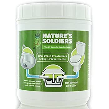 Amazon Com Bio Clean Drain Septic Bacteria 2 Lb Home