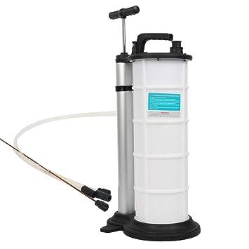 FreeTec Manual Extractor de Fluido de Aceite de Vacío Bomba de Mano para Transferencia de Combustible