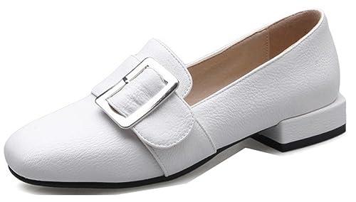 De Chaussures Aisun Talon Bureau Femme Unie Petit Classique Couleur kTPXiOZu