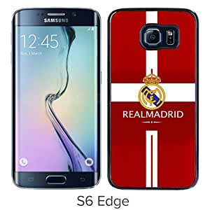 Fashionable And Unique Designed Case For Samsung Galaxy S6 Edge Phone Case With Manchester United 10 Black