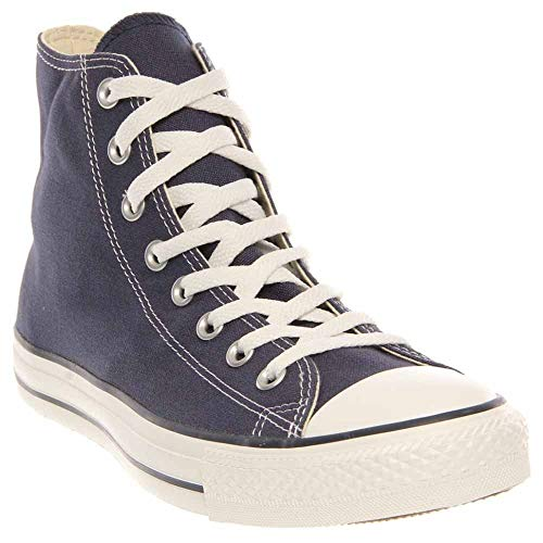 Chuck Taylor All Star Canvas High Top, Navy, 3.5