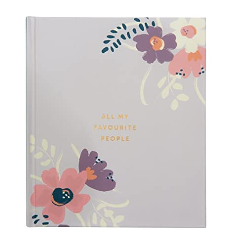 Greeting card organiser amazon electronics busy b ktwo floral address book large bookmarktalkfo Images