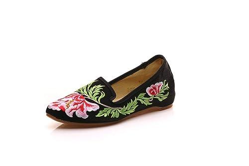Bordado Zapatos/Alpargatas/ Merceditas/Zapato Bordado para Zapatos de Mujer: Amazon.es: Zapatos y complementos
