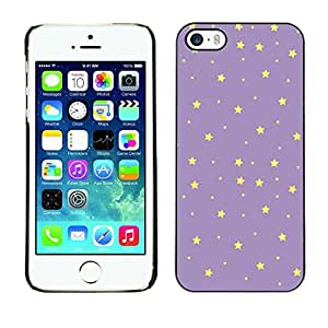 TaiTech / Hard Protective Case Cover - Yellow Night Sky Wallpaper - Apple iPhone 5 / 5S