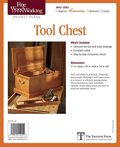 - Fine Woodworking's Tool Chest Plan (Fine Woodworking Project Plans)