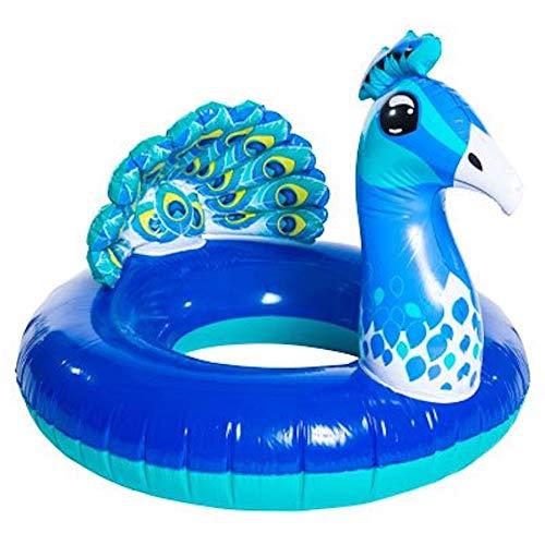 High Five Inflatable Peacock Bird Inner Tube
