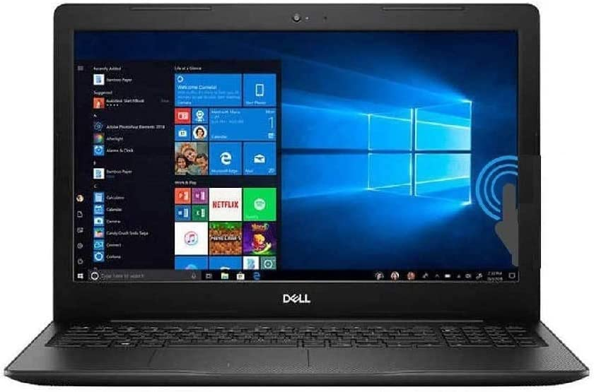 2021 Newest Dell Inspiron 15 3000 Series 3593 15.6'' Touchscreen Laptop, 10th Gen Intel Quad Core i7-1065G7 Processor, 16GB RAM, 1TB SSD, Webcam, Wi-Fi, Windows 10 Pro,