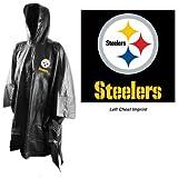 NFL Pittsburgh Steelers Rain Poncho