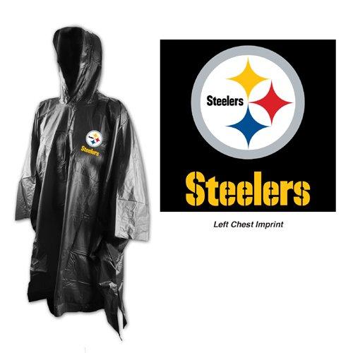 timeless design 95e33 88983 NFL Pittsburgh Steelers Rain Poncho