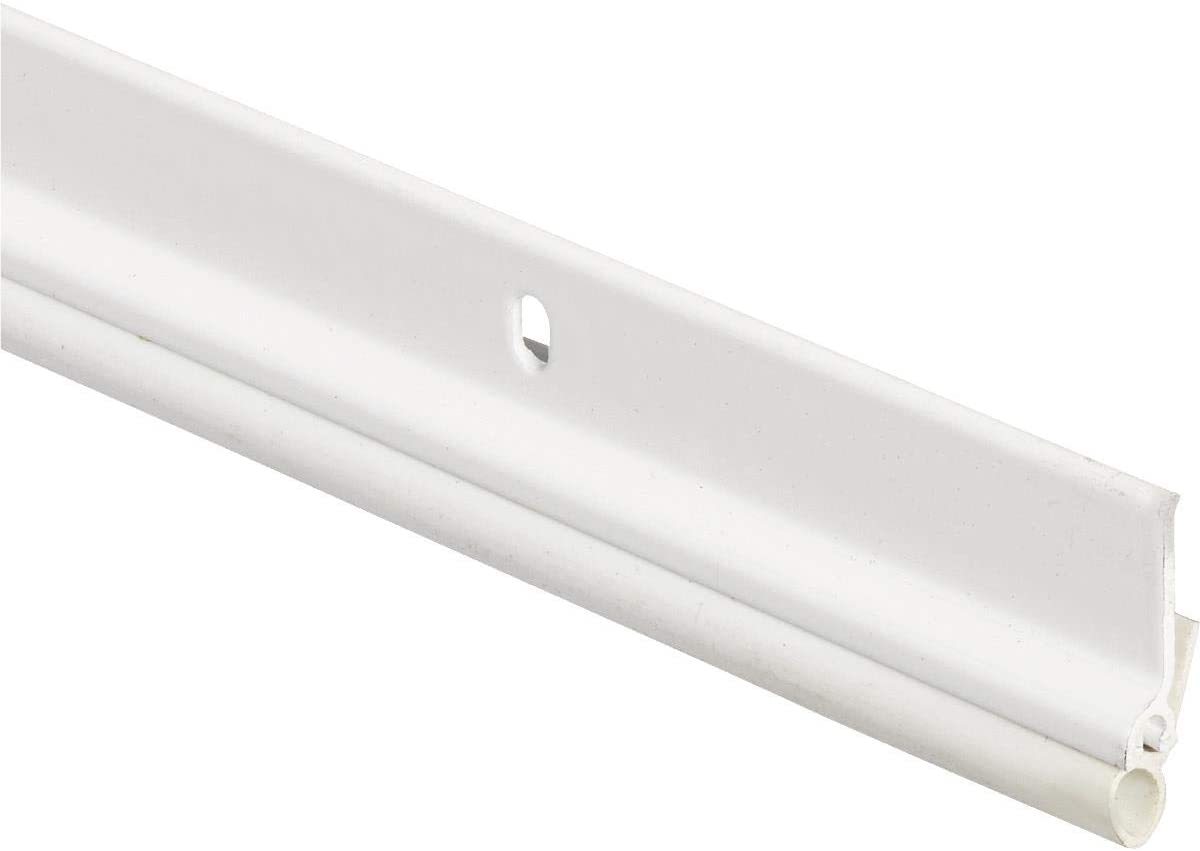 M-D Building Products 69923 36-Inch by 84-Inch WS003 1/4-Inch by 7/8-Inch Flat Profile Door Jamb Weatherstrip Kit, White