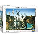 EuroGraphics Salvador Dalí Swans Reflecting Elephants Puzzle (1000 Piece)