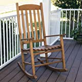Cheap Mainstays` Outdoor Rocking Chair, Brown (Brown)