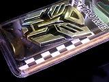 "Autobot Transformers Chrome Emblem 3"" Tall (Not a decal, High Quality Chrome Emblem)"